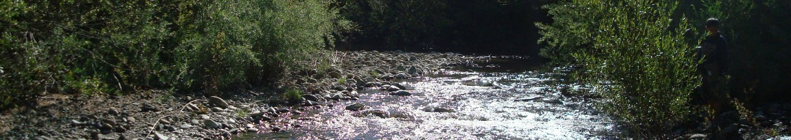 The Navarro River flows through Anderson Valley to the Pacific Ocean.